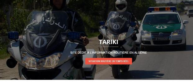 Tariki.dz,l'application de la Gendarmerie nationale, qui fait le buzz