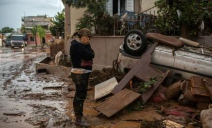 Inondations en Grèce: le bilan s'alourdit à 23 morts
