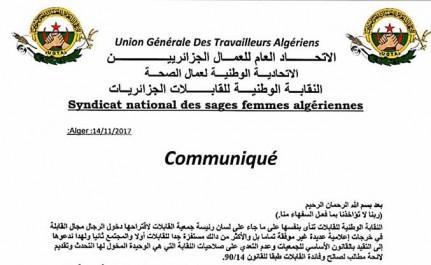 """""""Sage-femme homme"""" en Algérie: le syndicat national réagit et accuse"""