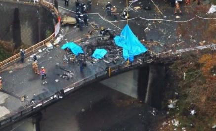 Japon: au moins 4 morts dans l'accident d'un hélicoptère