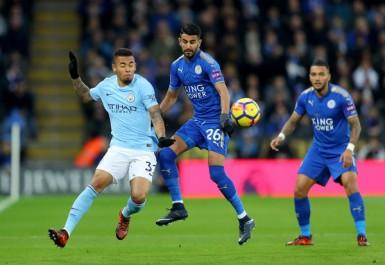 Mahrez et Slimani impuissants face à Manchester City