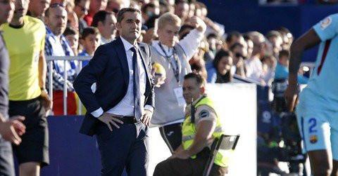 Barça : Valverde n'a pas trouvé son équipe brillante