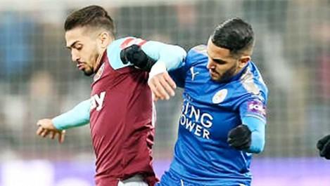Mahrez a mal digéré son remplacement face à West Ham