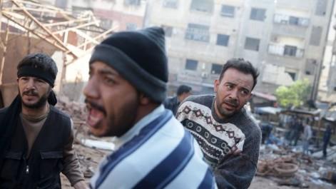 Syrie: Le centre de Damas pilonné, un mort et une dizaine de blessés