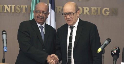 Abdelkader Messahel s'entretient à Paris avec son homologue français