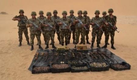 Algérie : une cache d'armes découverte près de Reggane