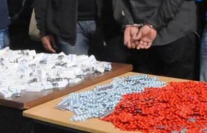 Oum El Bouaghi –Tébessa : Saisie de près de 1 400 comprimés de psychotropes parmi lesquels 600 appelés Saroukh