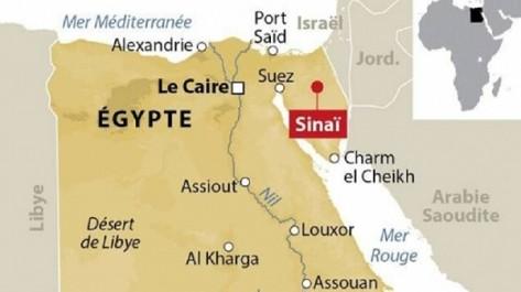 Egypte: Raids de représailles de l'aviation dans le Nord-Sinaï