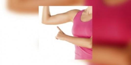 Forme Raffermissez le dessous de vos bras