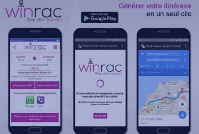 «Winrac»: L'application algérienne qui vous mène à l'adresse exacte en un seul clic