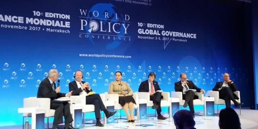 Maroc: Ouverture à Marrakech des travaux de la 10e édition de la World Policy Conférence
