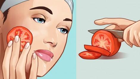 la tomate contre l'acné soudaine
