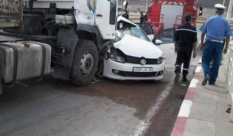 Tlemcen : 1 413 accidents de la circulation enregistrés en 2017