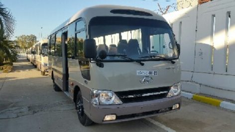Global Motors Industries Al Djazaïr : Livraison des premiers bus Hyundai County