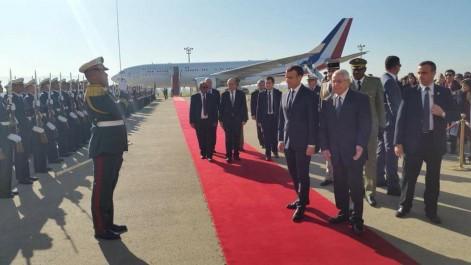 Direct- visite du président français Emmanuel Macron en Algérie