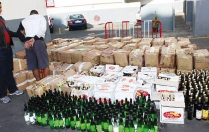 Mascara : Saisie de plus de 4000 unités de boissons alcoolisées