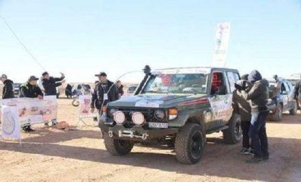 """Rallye """"Challenge Sahari international"""" : Réduction de la distance d'étape pour cause d'intempéries"""