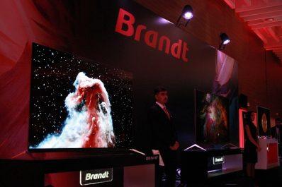 Jusqu' au bout de l'innovation Brandt Algérie lance sa nouvelle gamme TV en annonçant ses nouveautés