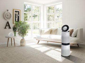 Les produits intelligents de LG utilisent la re-connaissance vocale et un capteur de poussière pour améliorer la qualité de l'air
