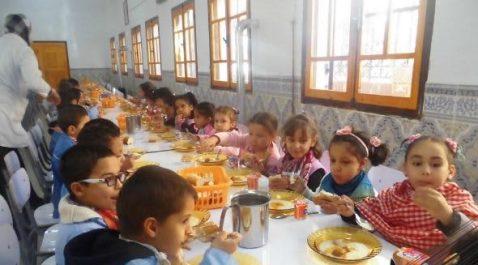 Beaucoup reste à faire dans les zones déshéritées: 107.000 élèves bénéficient de la cantine scolaire