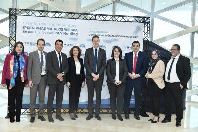 Ipsen Pharma lance la constitution d'une société mixte en 49/51, acte fondateur de la construction de sa première usine en Afrique pour un médicament en oncologie
