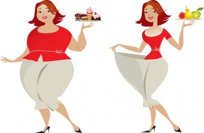 Si on maigrit très vite, on risque davantage de reprendre du poids ensuite Vrai