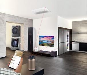 Une collection d'appareils domotiques LG sera intégrée à un complexe d'appartement dans la banlieue de Séoul: la solution d'écosystème smart pour l'alimentation de la maison de l'avenir