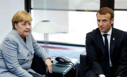 """Violations du cessez-le-feu en Ukraine : Macron et Merkel appellent les parties à """"leurs responsabilités"""""""
