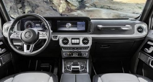Daimler : Voici l'intérieur de la nouvelle Mercedes-Benz Classe G