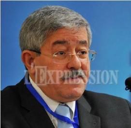 Alliance au niveau des assemblées locales : Ouyahia donne carte blanche à ses élus