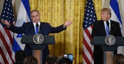 Trump livrera «SON» projet de paix israélo-palestinien en janvier : 2018 Un tireur de ficelles nommé Netanyahu