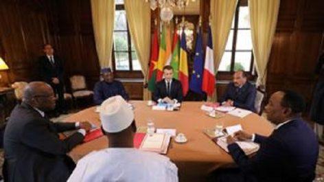 Situation sécuritaire au sahel : Sommet à Paris pour muscler la force du G5-Sahel