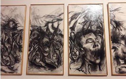 Institut cervantès : Mémoire et peinture pour crier la paix