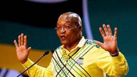 Afrique du sud l'anc : désigne le successeur de Jacob Zuma