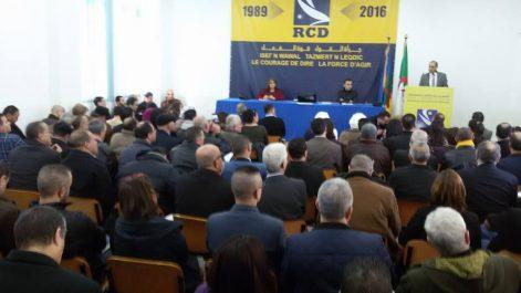 Il coincide avec la célébration su 29e anniversaire du parti Le 5e congrès du RCD le 9 février