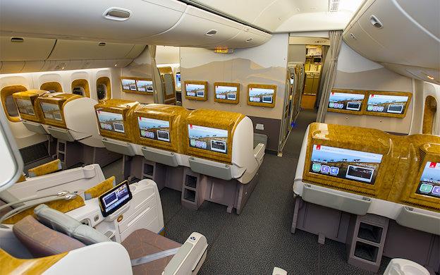 Business class emirates calme luxe et volupt for Migliori cabine business class 2017