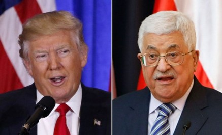 Trump informe Abbas qu'il veut transférer l'ambassade à Jérusalem