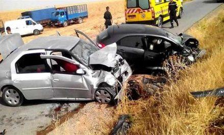 Accidents de la circulation: 11 morts et 22 blessés en 48 heures à l'échelle nationale