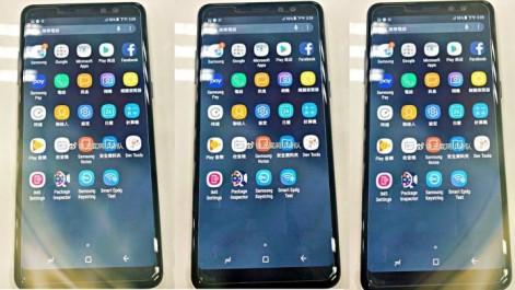 Fuite des photos du Galaxy A8+ (2018) qui sera le nouveau A7