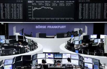 Bourses Toutes les actions européennes en baisse