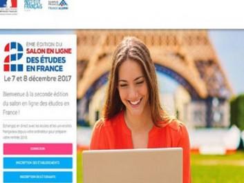 Salon en ligne des études en France : Les 7 et 8 décembre en Algérie