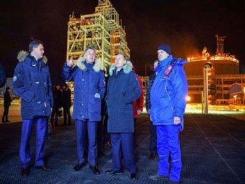 Arctique russe : Poutine inaugure le mégaprojet gazier Yamal