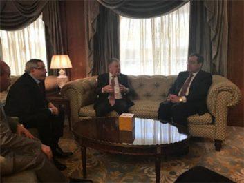 99e réunion du conseil ministériel de l'OPAEP : M. Guitouni s'entretient avec son homologue égyptien
