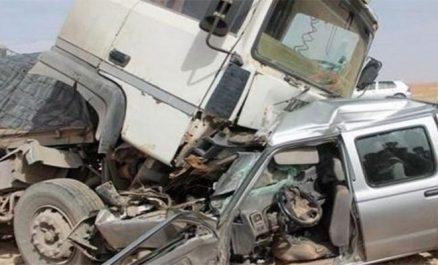 Accidents de la route : 33 morts et 884 blessés en une semaine
