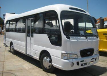 Les premiers bus « Hyundai County » livrés aux clients