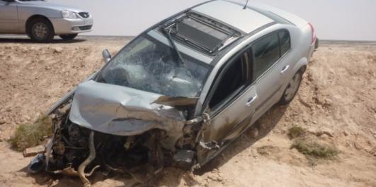 Axe Aghbel-Oued Tlélat: Un homme décède suite au dérapage de sa voiture