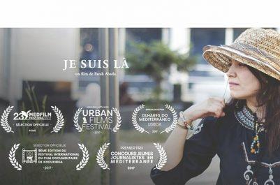 """Réalisé par Farah Abada : Le court métrage """"Je suis là"""" primé deux fois"""
