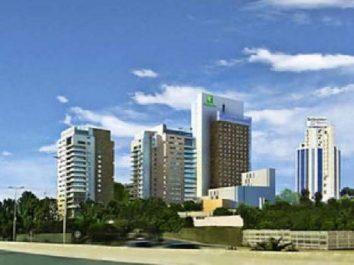 Le parc hôtelier de la capitales s'enrichit d'un nouveau quatr étoiles : Le Holiday inn sera la plus haute tour d'Alger