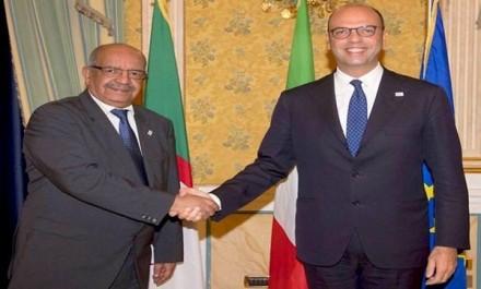 """Immigration clandestine : l'Algérie et l'Italie pour une concertation """"régulière"""""""
