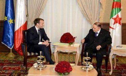Le président Bouteflika s'entretient avec son homologue français